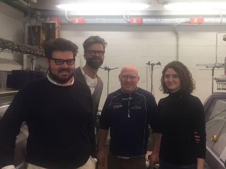 team Hosio e professore Conti